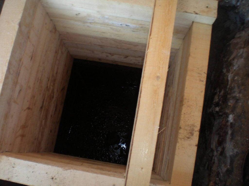 Ремонт деревянного колодца