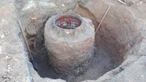 Ремонт колодца канализации