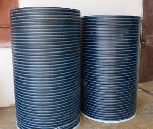 Ремонт колодцев пластиковыми трубами