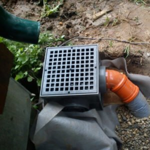 Колодец ливневой канализации