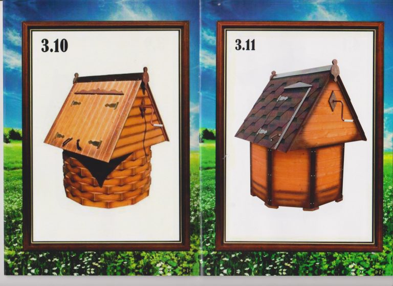 колодезный домик с установкой 8