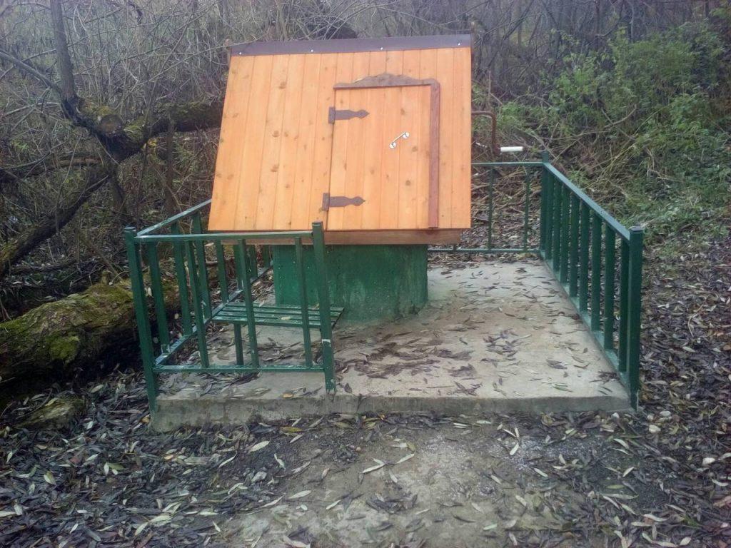 Благоустройство колодца Администрация поселения Марушкино Кубинка